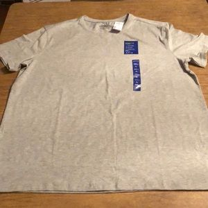 Apt. 9 Premier Flex Gray Basic Solid Crew Neck Tee